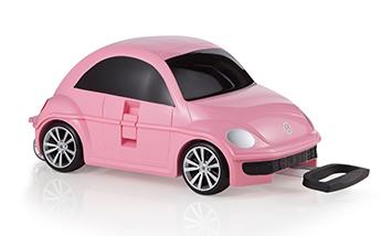 Ridaz - Trolley bimbi - Maggiolino rosa