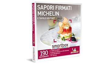 Smartbox - ebox  Sapori firmati MICHELIN