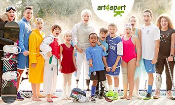 Donazione da 10 euro ad Associazione art4sport ONLUS