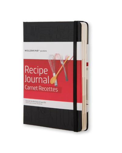 Moleskine - Agenda Recipe Journal