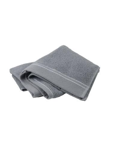 Asciugamano ospite 30x50 - grigio