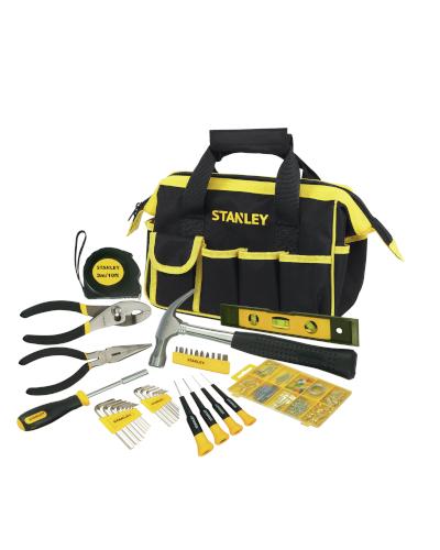 STANLEY - Kit 38 Utensili per la Casa con Borsa