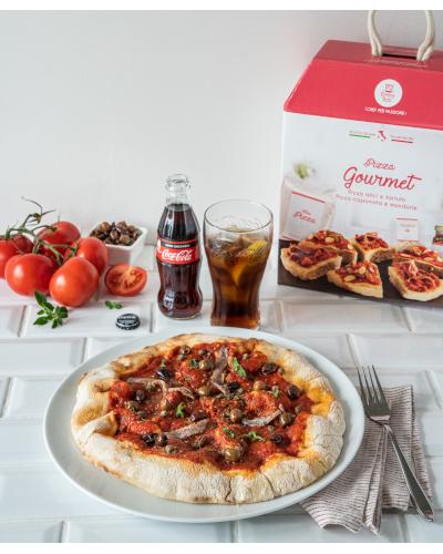 Serata Pizza & Coca Cola Zero Zuccheri per 2 persone